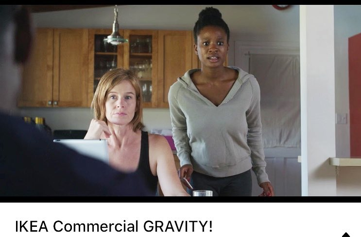 IKEA GRAVITY commercial screenshot