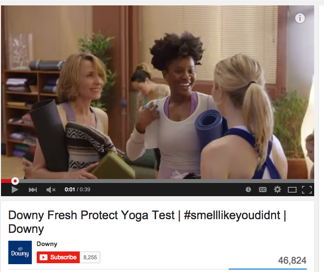 Downy Fresh commercial
