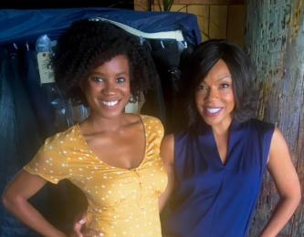Actress Wendy Raquel Robinson and I